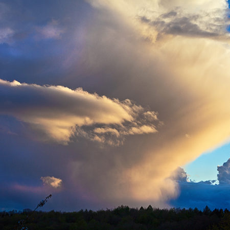 dramatische Wolken, Himmel,
