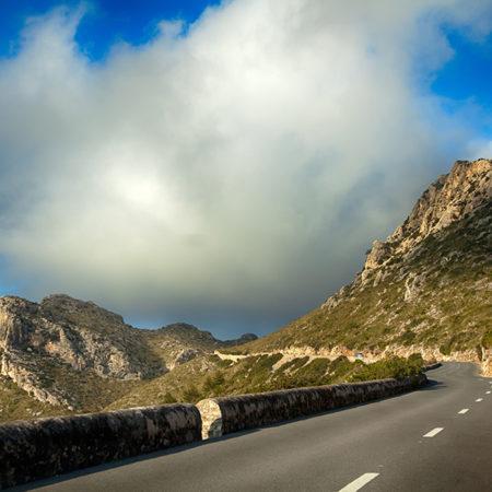 Mallorca, Straße, Berge, Wolken, melanie brunzel, foto-graefin,