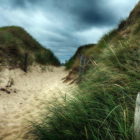 sylt, meer, sand, dünenweg, dünengras, melanie brunzel, foto-graefin, wolken,